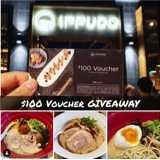 Win $100 Ippudo Voucher