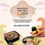 Win $30 &JOY Dining Hall Voucher