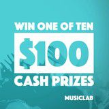Win 1 of 10 $100 cash prizes