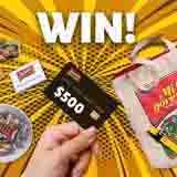 Win $500 Grocery Voucher plus an Indomie Goodie Bag