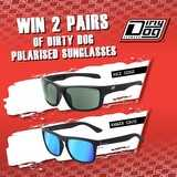 Win Dirty Dog Axle and Ranger Polarised sunglasses.