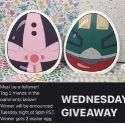 Win Easter Egg Pop Up Cards