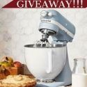 Win Kitchen Aid Professional Mixer or a $300 Cash Prize!