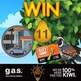 Win a $100 GAS Gift Card