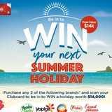 Win a $14,000 Travel Voucher