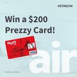 Win a $200 Prezzy Card
