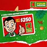 Win a $250 Four Square Gift Voucher