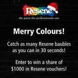 Win a $250 Resene vouchers