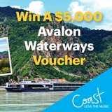 Win a $5,000 Avalon Waterways Voucher