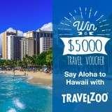 Win a $5,000 Hawaii Travel Voucher