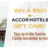 Win a $500 AccorHotels