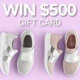 Win a $500 Footwear Gift Card
