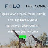 Win a $500 Iconic Voucher