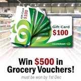 Win a $500 Supermarket Voucher