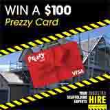 Win a $100 Prezzy Card