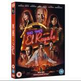 Win a  Bad Times at the El Royale DVD