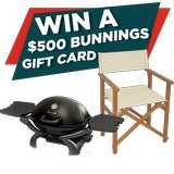 Win a Bunnings Voucher