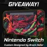 Win a Custom Nintendo Switch