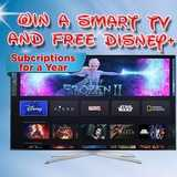 Win a Disney+ Subscription and Smart TV