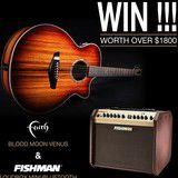 Win a Faith Blood Moon Venus Guitar