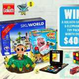 Win a Goliath Games & Elephanta toy pack