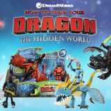 Win a HTTYD The Hidden World Dragon and Viking Sets