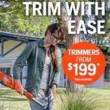Win a Husqvarna Trimmer worth $199