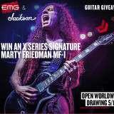 Win a Jackson X Series Signature Marty Friedman