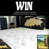 Win a King Single Brolly Sheet and The Gruffalo book