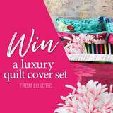 Win a Luxury Quilt Cover Sets