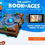 Win a Nintendo Switch & Book of Ages Case Bundles
