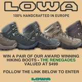 Win a Pair of Hiking Boots
