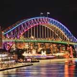 Win a Redballoon experience with the Vivid Sydney Bridge Climb
