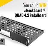 Win a RockBoard QUAD 4.2