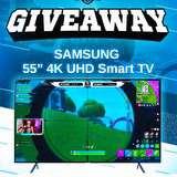 """Win a Samsung RU7100 55"""" 4K UHD"""