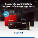 Win a Samsung storage bundle
