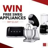 Win a Smeg Kitchen Appliance Package