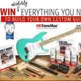 Win a StewMac Custom Guitar Build