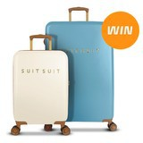 Win a SuitSuit Fab Seventies Luggage Set