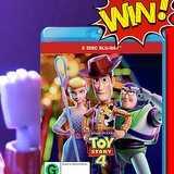 Win a Toy Story 4 BluRays