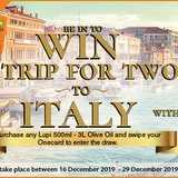 Win a Trip to Italy with Lupi Olive Oil