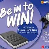 Win a Verbatim Secure Hard Drive
