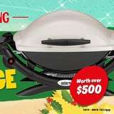 Win a Weber BBQ Package