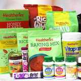 Win a bag with an assorted selection of Healtheries products