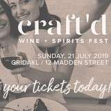 Win a double passes to Craft'd