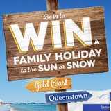 Win a family holiday