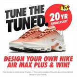 Win a pair of customized Nike Air Max plus