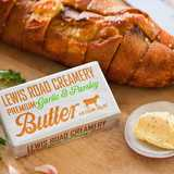 Win a supply of Lewis Road Creamery Garlic & Parsley Butter