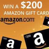 Win an $200 Amazon gift card