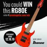 Win an Ibanez RG80E